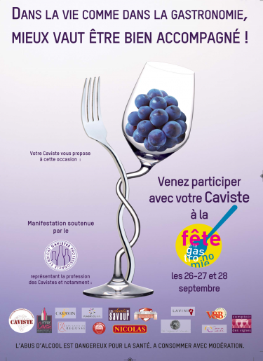 Affiche fête de la gastronomie 2014