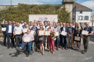 Les demi finalistes du concours du meilleur Caviste de France 2016