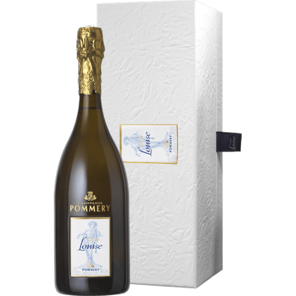 Champagne Pommery - Cuvée Louise 2004 - coffret luxe