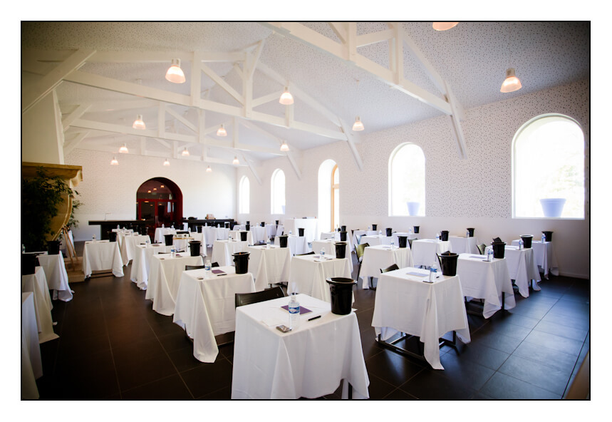 Concours du Meilleur Caviste de France Salle Château Belgrave