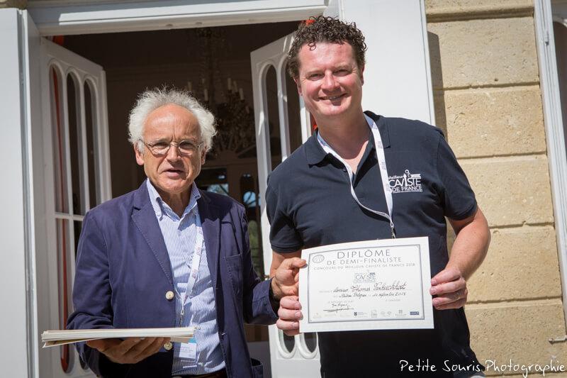 Demi finale Concours Meilleur Caviste de France 2018 Ag Yves Legrand président, Ad Carl ANSQUER : Cave vins et terroirs normand – 14112 Biéville-Beuville