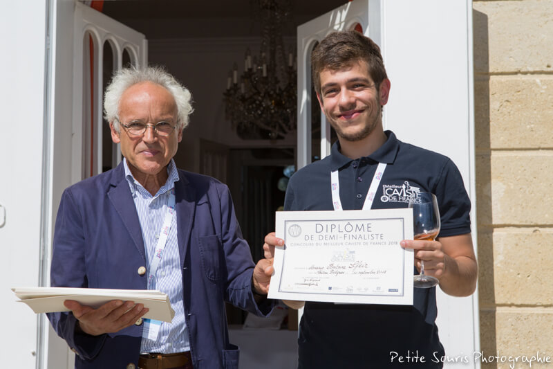 Demi finale Concours Meilleur Caviste de France 2018 Ag Yves Legrand président, Ad Antoine SFEIR : Le Repaire de Bacchus – 75015 Paris