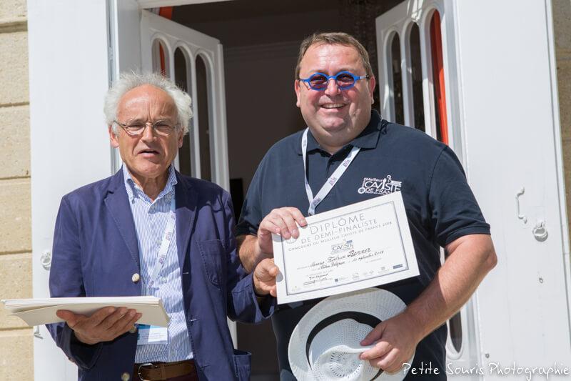 Demi finale Concours Meilleur Caviste de France 2018 Ag Yves Legrand président, Ad Fabrice RENNER : Au Monde du Vin - 68300 Saint-Louis