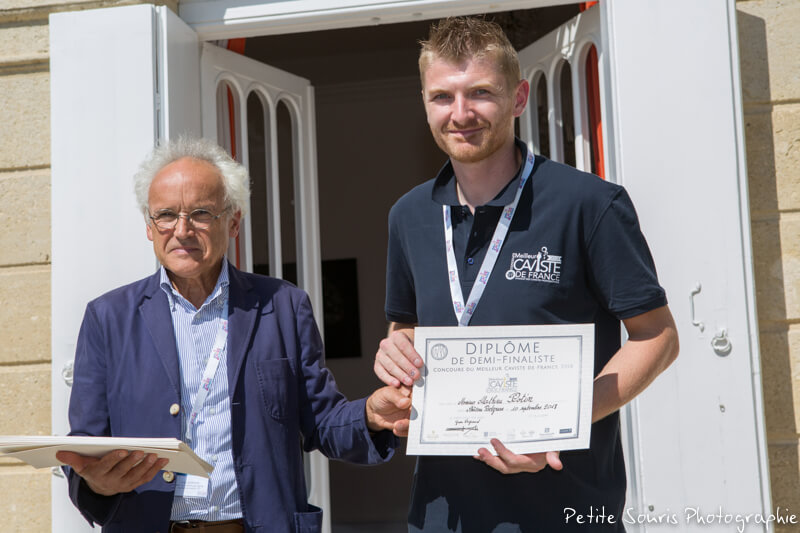 Demi finale Concours Meilleur Caviste de France 2018 Ag Yves Legrand président, Ad Mathieu POTIN : La Vignery – 78100 Saint-Germain-en-Laye