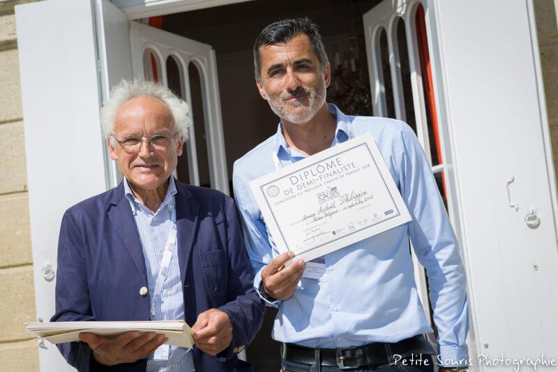 Demi finale Concours Meilleur Caviste de France 2018 Ag Yves Legrand président, Ad Michael PHILIPPON : Cave Nicolas - 71100 Chalon sur Saône