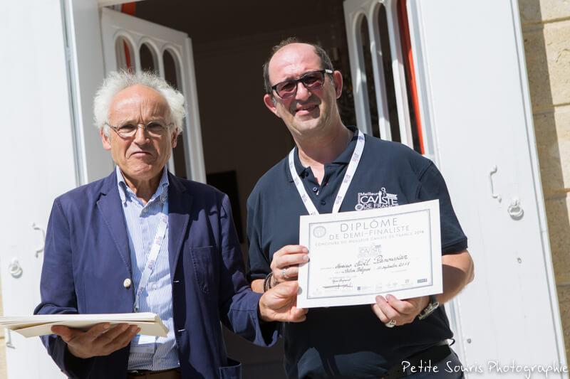 Demi finale Concours Meilleur Caviste de France 2018 Ag Yves Legrand président, Ad Noël PANOUSSIAN : Cave Nicolas – 67000 Strasbourg