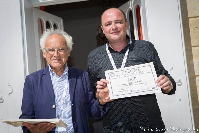 Demi finale Concours Meilleur Caviste de France 2018 Ag Yves Legrand président, Ad