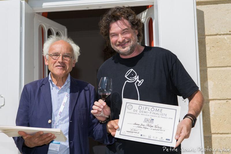Demi finale Concours Meilleur Caviste de France 2018 Ag Yves Legrand président, Ad Jean-Philippe LEROY : Vinothentik - 26120 Chabeuil