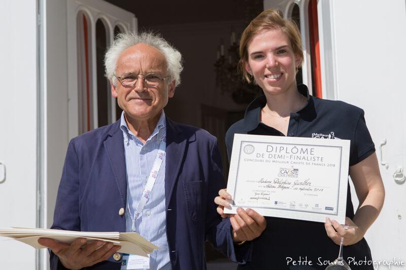 Demi finale Concours Meilleur Caviste de France 2018 Ag Yves Legrand président, Ad Delphine GUNTHER : Cave Nicolas – 92800 Puteaux