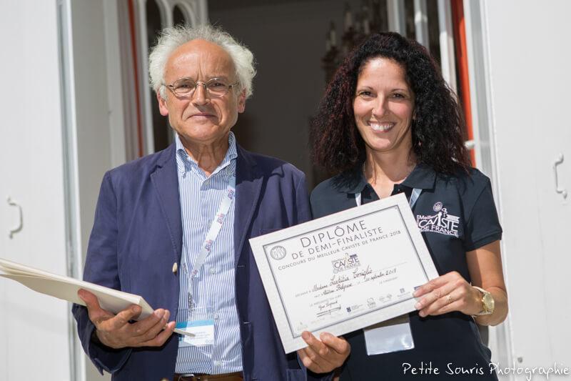 Demi finale Concours Meilleur Caviste de France 2018 Ag Yves Legrand président, Ad Laeticia CONIGLIO : Rhône Magnum, la Cave - 26600 Pont de l'Isère