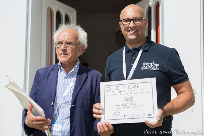 Demi finale Concours Meilleur Caviste de France 2018 Ag Yves Legrand président, Ad Cyril CONIGLIO : Rhône Magnum, la Cave - 26600 Pont de l'Isère