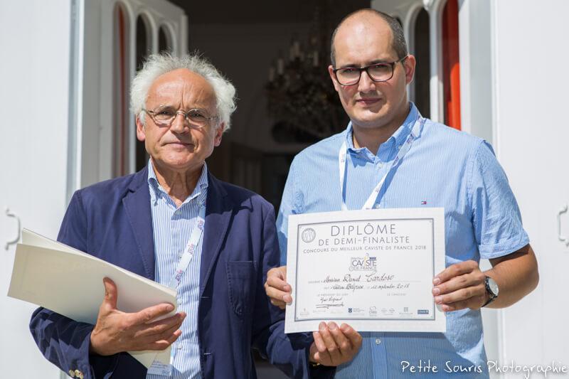 Demi finale Concours Meilleur Caviste de France 2018 Ag Yves Legrand président, Ad Daniel CARDOSO : La Clef des vins – 81000 Albi