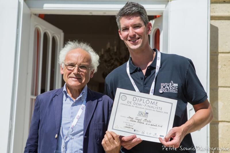 Demi finale Concours Meilleur Caviste de France 2018 Ag Yves Legrand président, Ad Vincent ANDRE : Terroir dit vin – 14700 Falaise