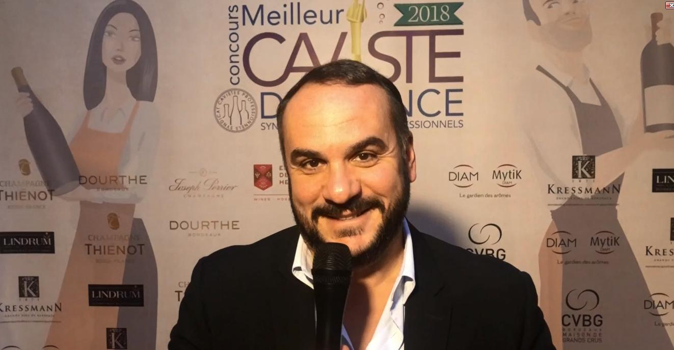 FX Demaison parrain du Concours du meilleur caviste de France 2018