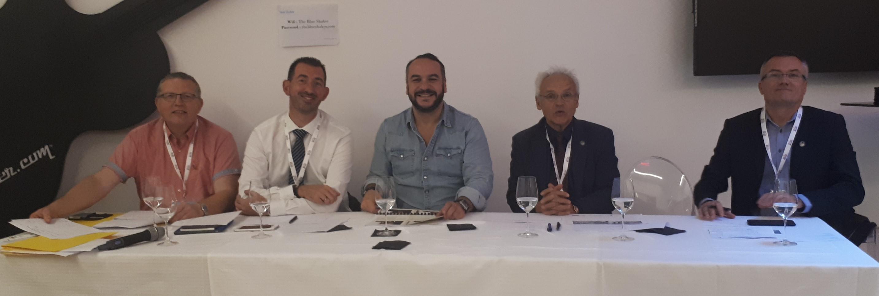 Jury finale du Concours du meilleur Caviste de France 2018 avec FX Demaison