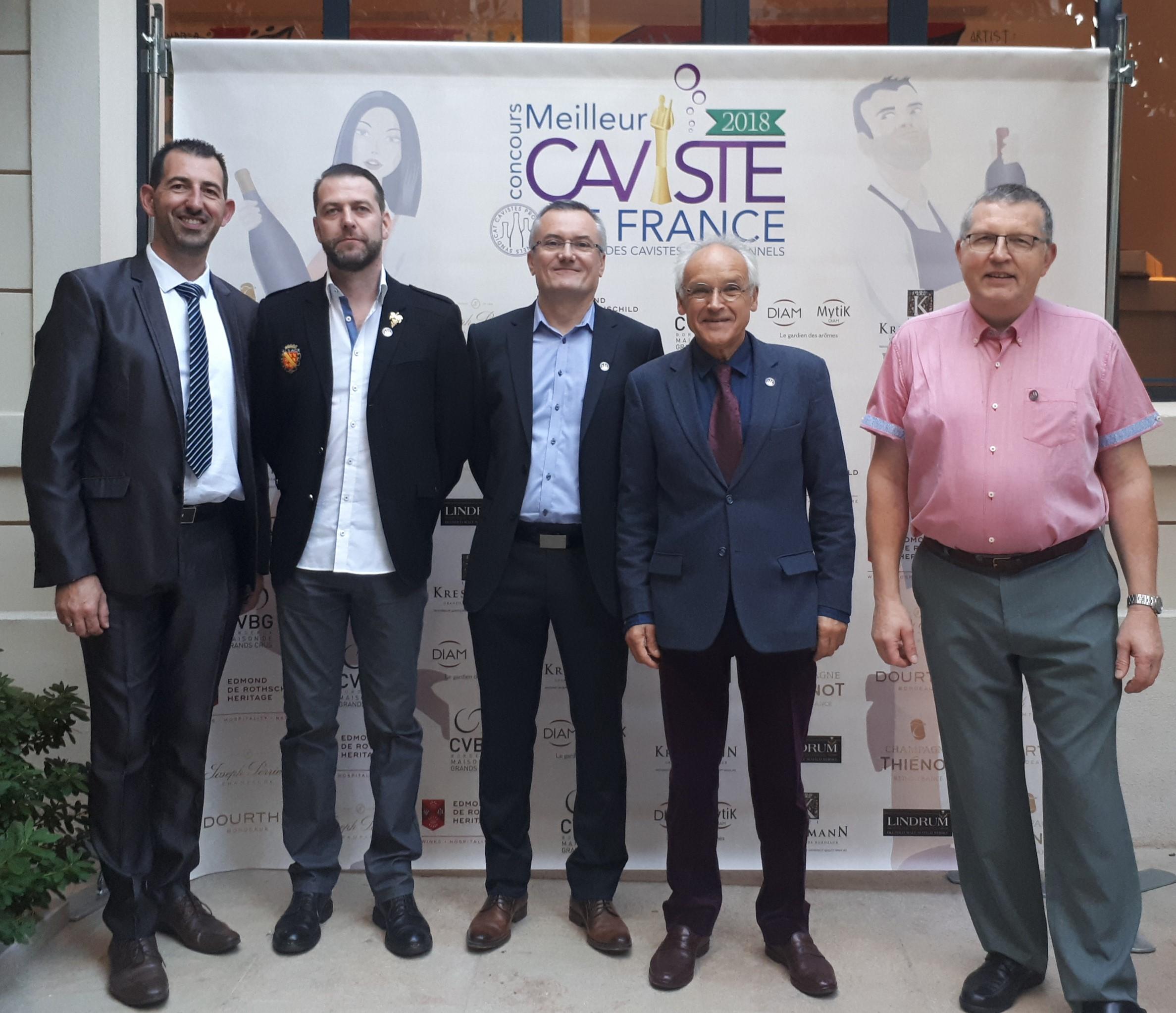 le jury du Concours Cavistes 2018
