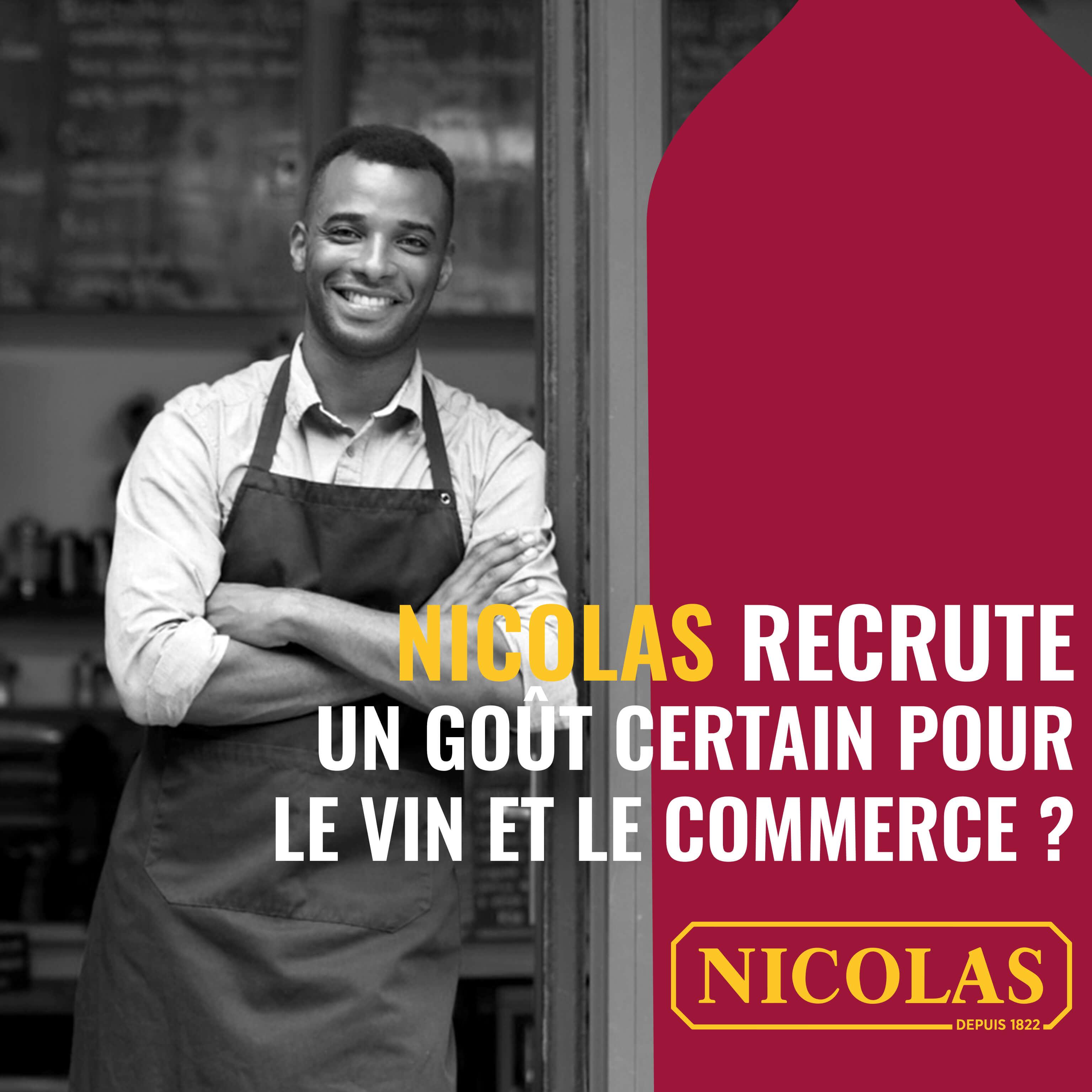 NICOLAS recrute
