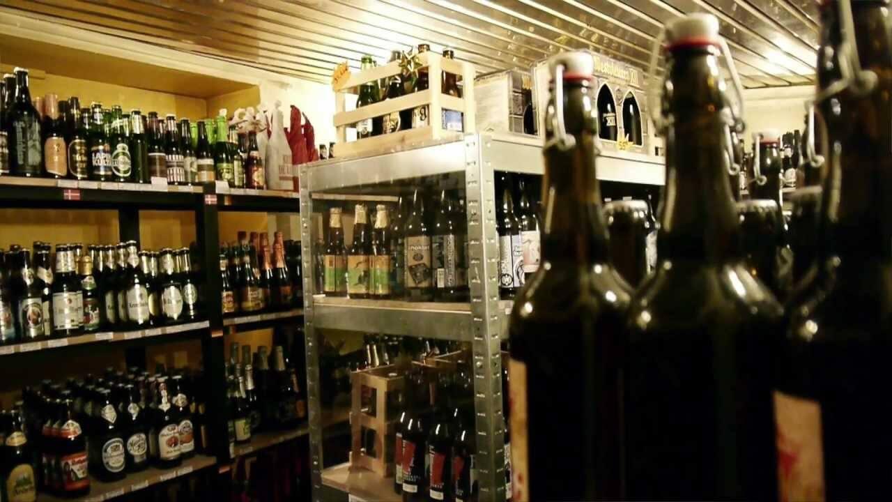 Bières artisanales chez le caviste