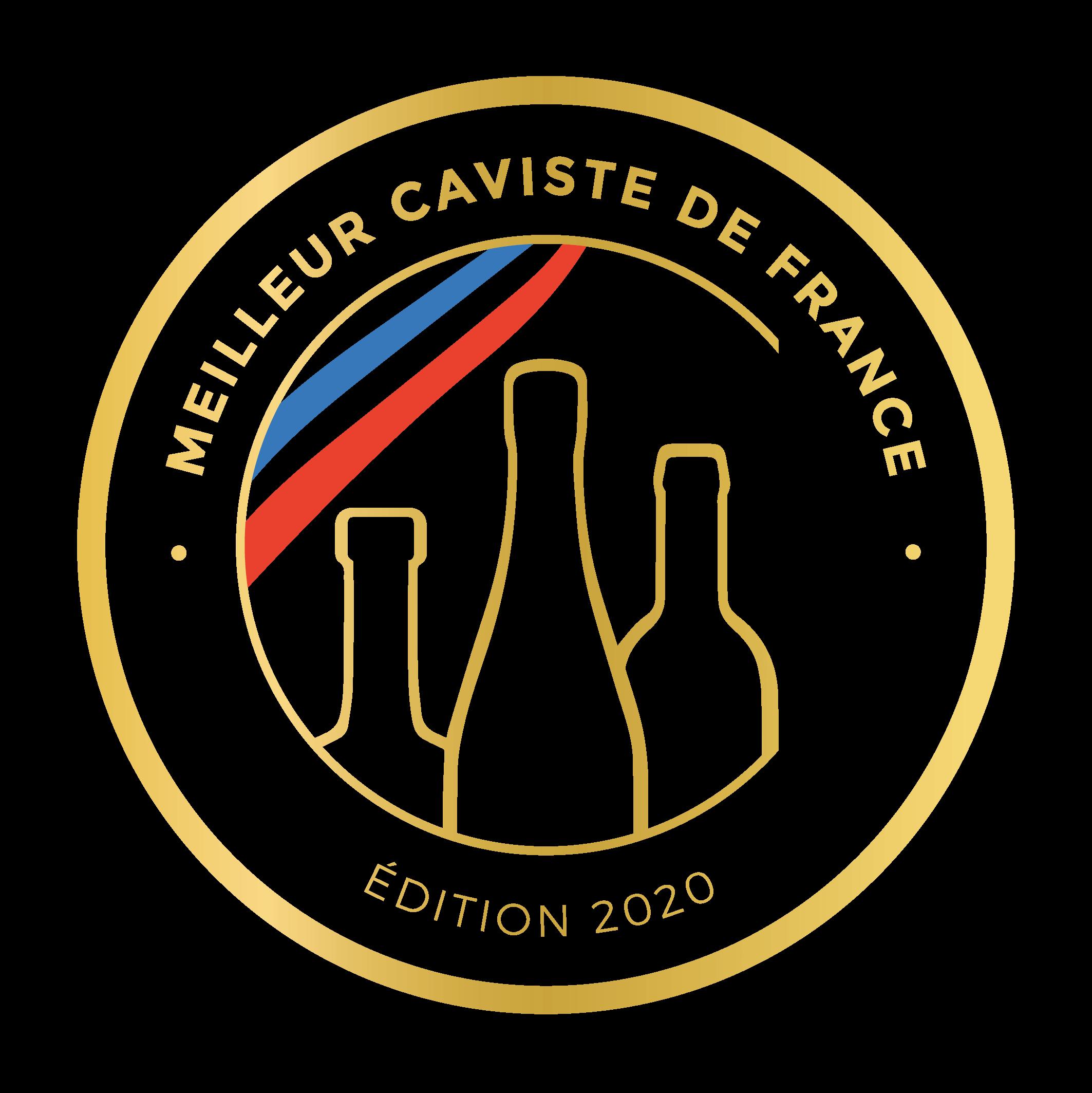 Logo du Concours du meilleur caviste de France 2020