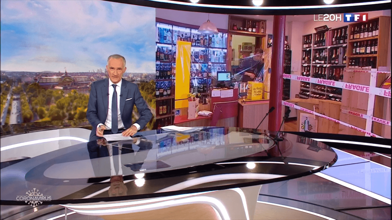 TF1 JT 20h 7 avril 2020 - 29 mn (cliquer)