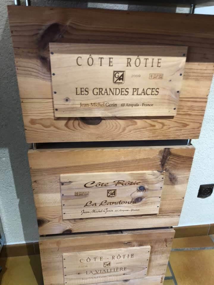Caisses Côte Rotie O Leydier