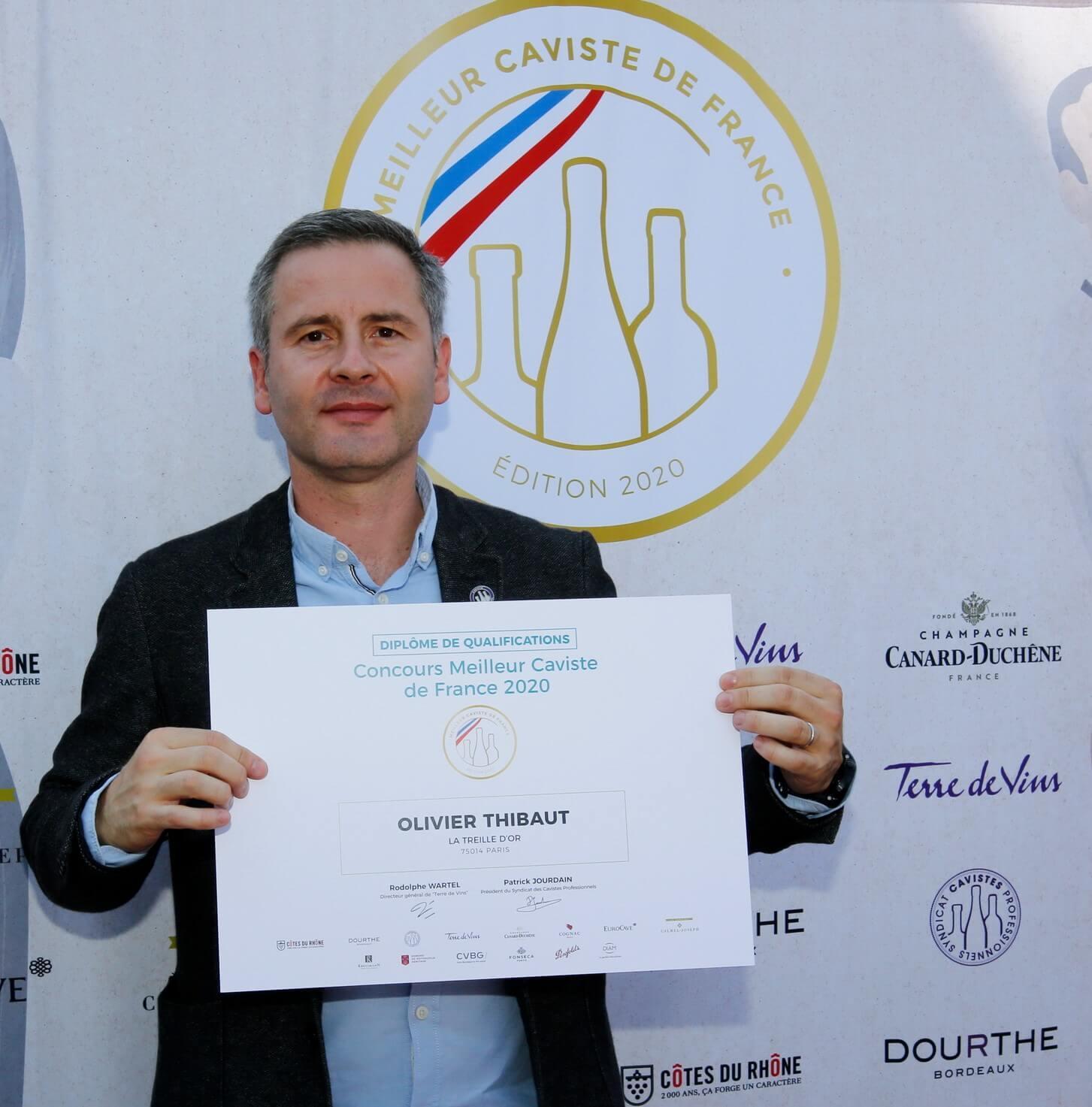 Journee d epreuve dans les locaux de la maison de Champagne Canard Duchene a Ludes dans la Marne du concours organise par Terre de Vins  du meilleur caviste 2020.