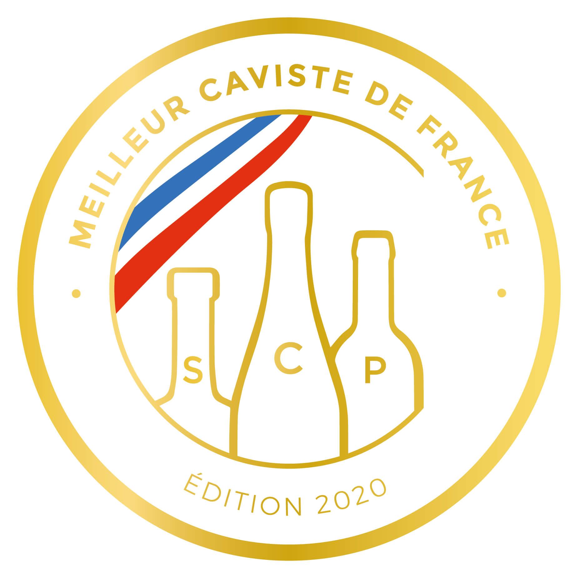 Logo du Meilleur Caviste de France 2020