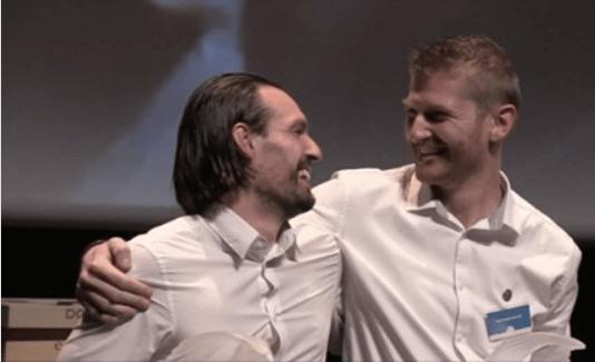 Julien LEPAGE & Matthieu POTIN champions du Concours du meilleur Caviste de france 2020 creditphotos G Avé