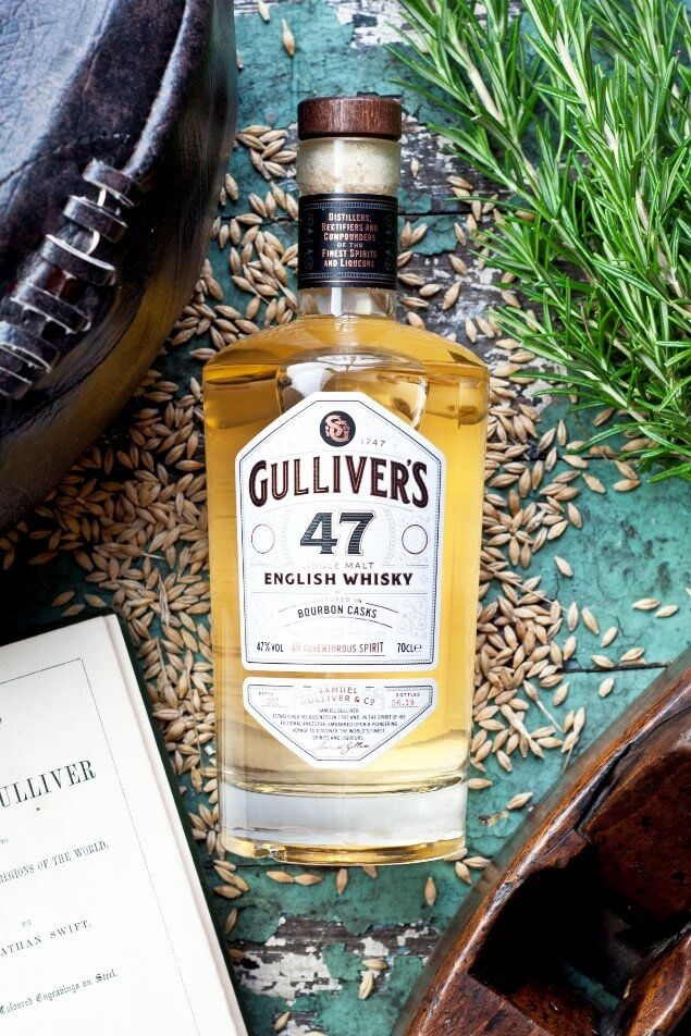 Gulliver's 47 English Whisky Bourbon Cask