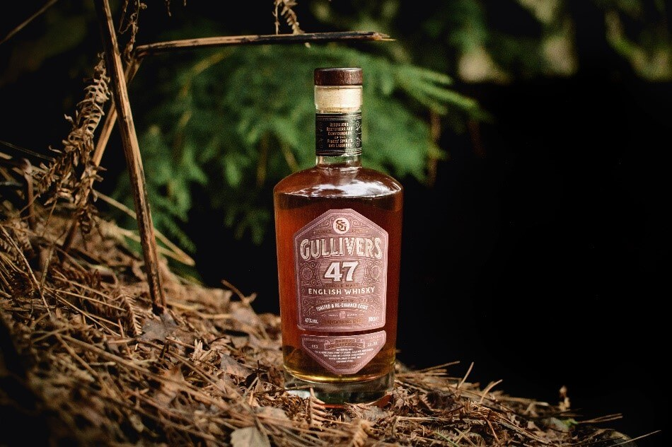 Gulliver's 47 English Whisky Toasted and Re-Charred Casks